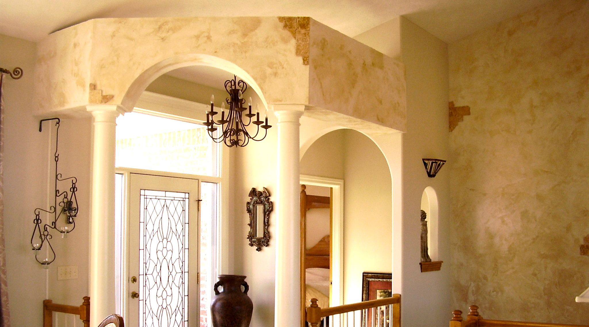 Fresco of Faux Finishes for Walls | Interior Design Ideas ...