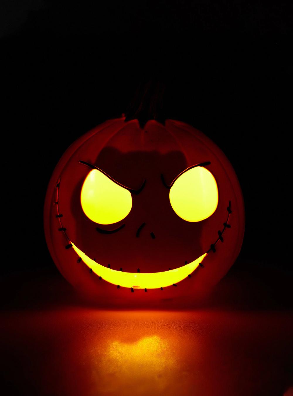 The Nightmare Before Christmas Jack Skellington Pumpkin