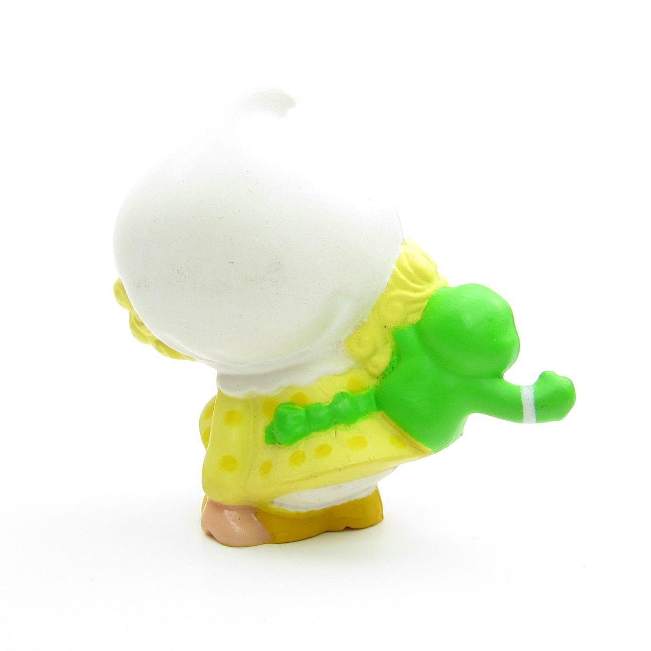 Lemon Meringue Picking a Flower Miniature Figurine   Brown