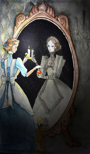 El mundo en el espejo una carta de tarot un reflejo aquarian tarot reflexiones de - El espejo tarot gratis ...