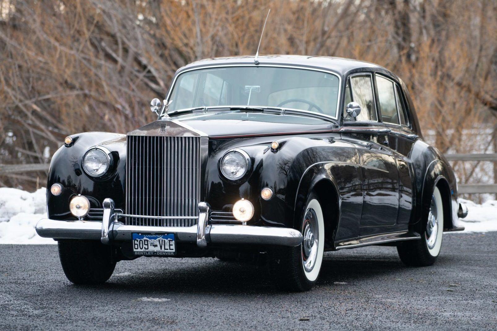 1958 Rolls Royce Silver Cloud Sedan Rolls Royce Silver Cloud