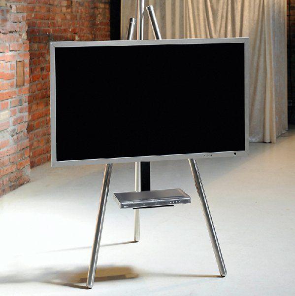 wissmann tripod art130 interior design pinterest fernseher fernseher verstecken und. Black Bedroom Furniture Sets. Home Design Ideas