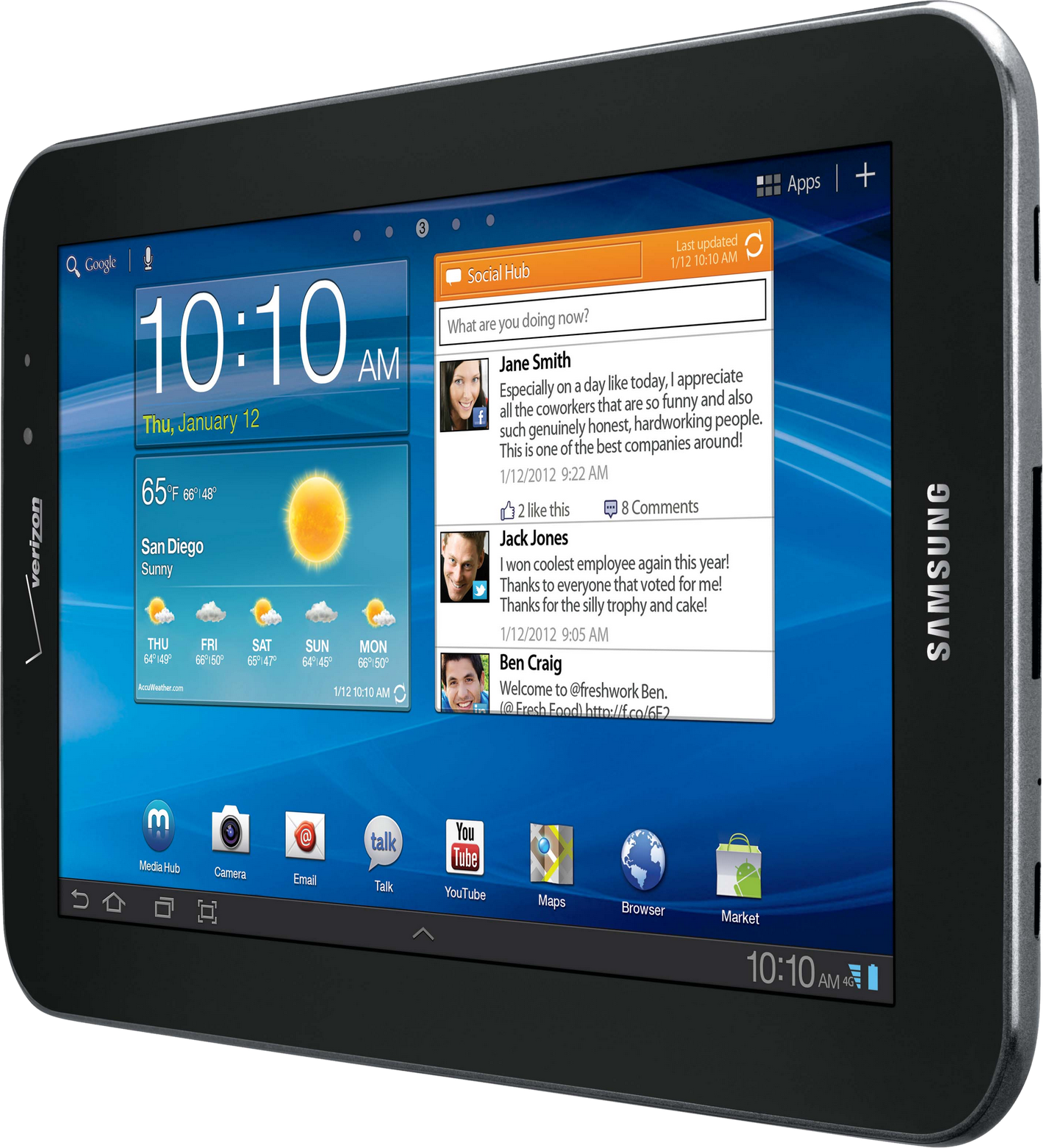 Samsung Android Tablet Png Image Tablet Android Tablets Samsung