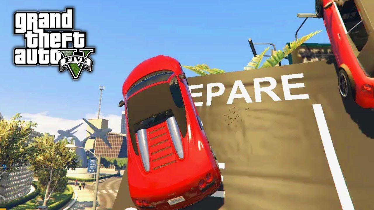 High Speed Gta 5 Biggest Jump Compilation 2020 Gta V Game Mode