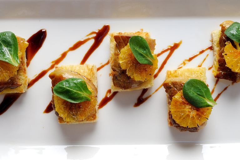 Seared Foie Gras On Toasted Brioche With Caramelised Orange Recipe Food Recipes Foie Gras Great British Chefs