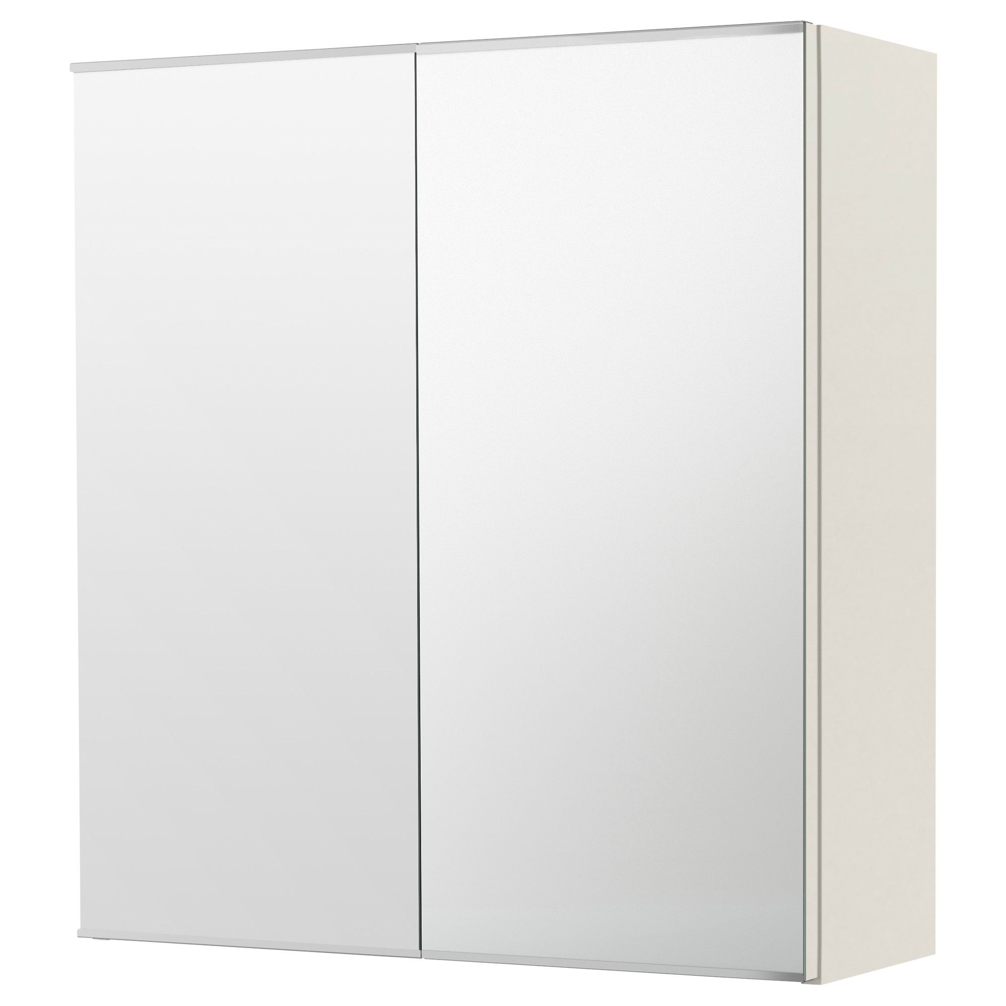LILLÅNGEN Mirror cabinet with 2 doors, white | Mirror cabinets ...