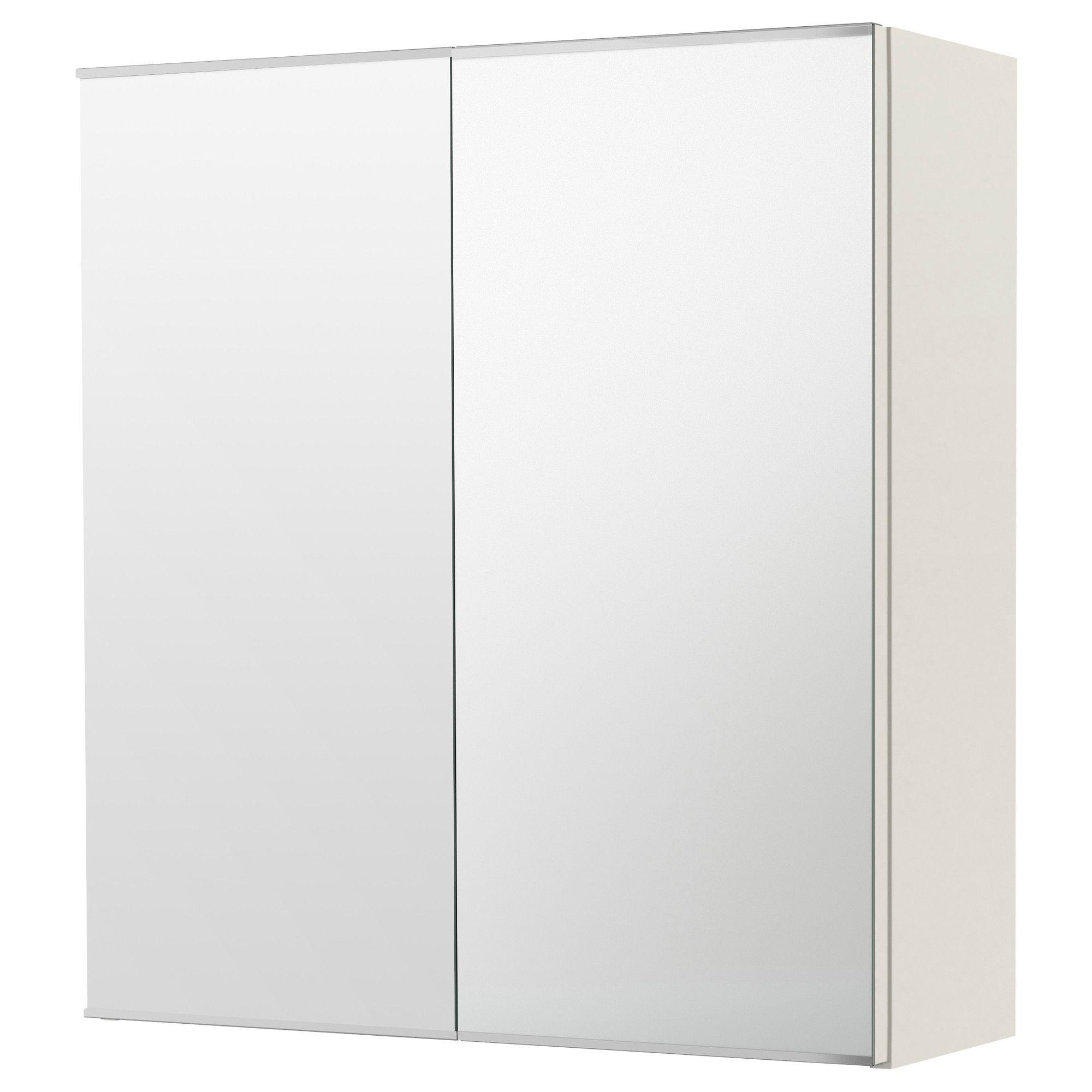 LILLÅNGEN Peilikaappi 2 ovea - valkoinen - IKEA