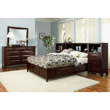 American Signature Furniture - Clarion Bedroom 7 Pc King Wall