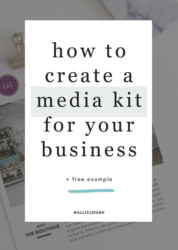 Ever wanted to know exactly how to create a media kit? Here's your rundown to what it is and why you absolutely need one if you want to grow your business.