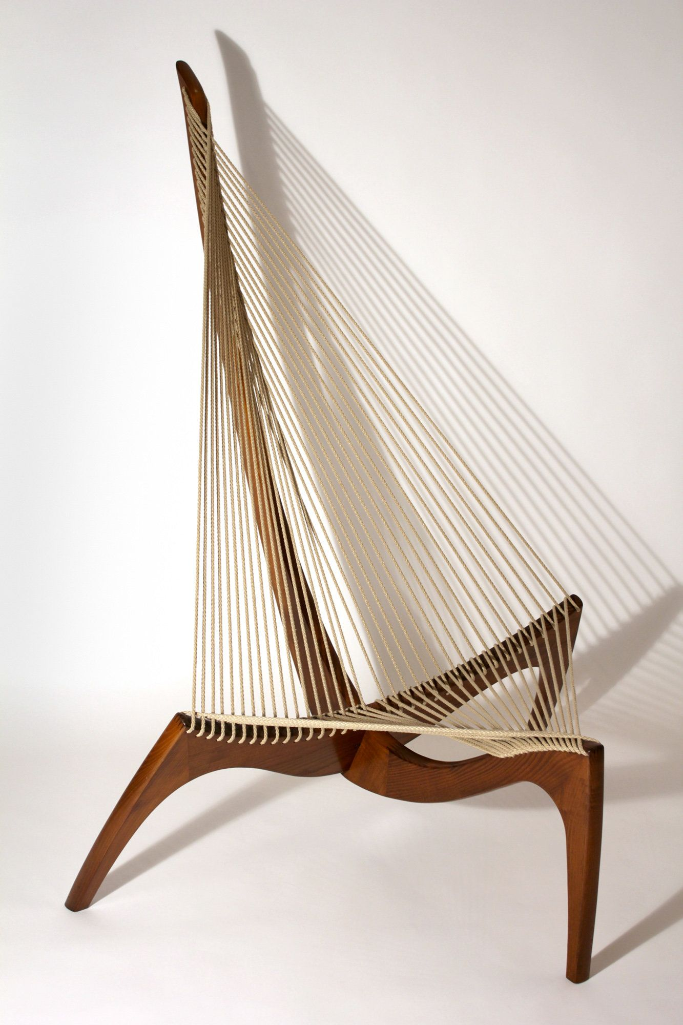 Vintage Harp Chair By Jorgen Hovelskov #modern #abstract #chair