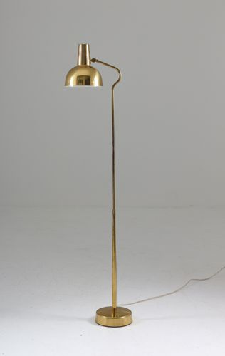 This Floor Lamp Was Manufactured By Asea Sweden In The 1960s This Beautiful Floor Lamp In Solid Brass Features A Lamp Brass Floor Lamp Beautiful Floor Lamps