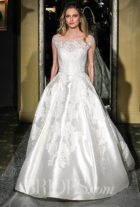 Oleg Cassini - Spring 2016 | Illusion neckline, Ball gowns and ...