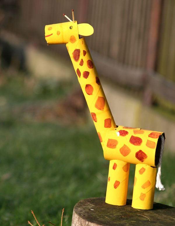 Gut gemocht Bricolage : Fabriquer une girafe africaine en papier | Création  MW72