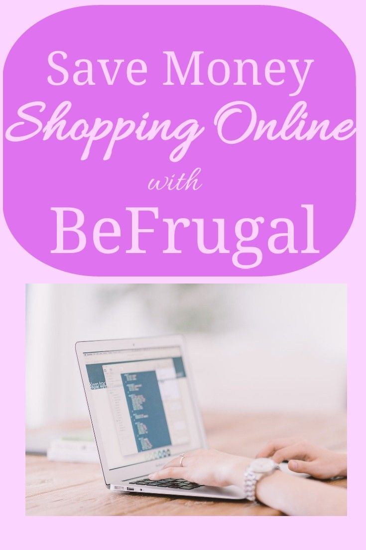 Earn Cash Back at over 5000 online stores with Befrugal
