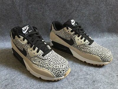 size 40 2eabb 48966 Nike Air Max 90 Black Leapord Runing Shoes