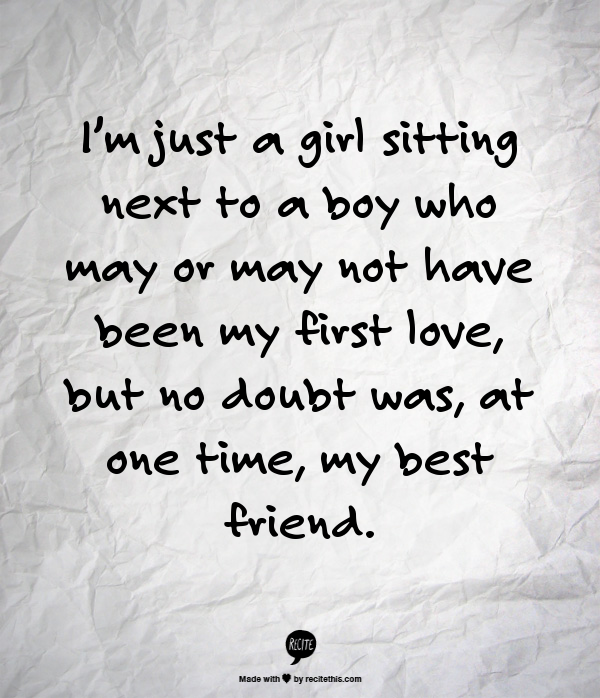Relationship Quotes Just Friends: Love Quotes, Relationship Quotes, Best Friend Quotes, I'm