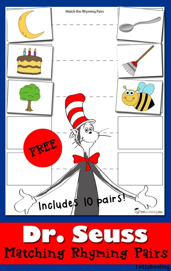 Pin On Dr. Seuss Activities