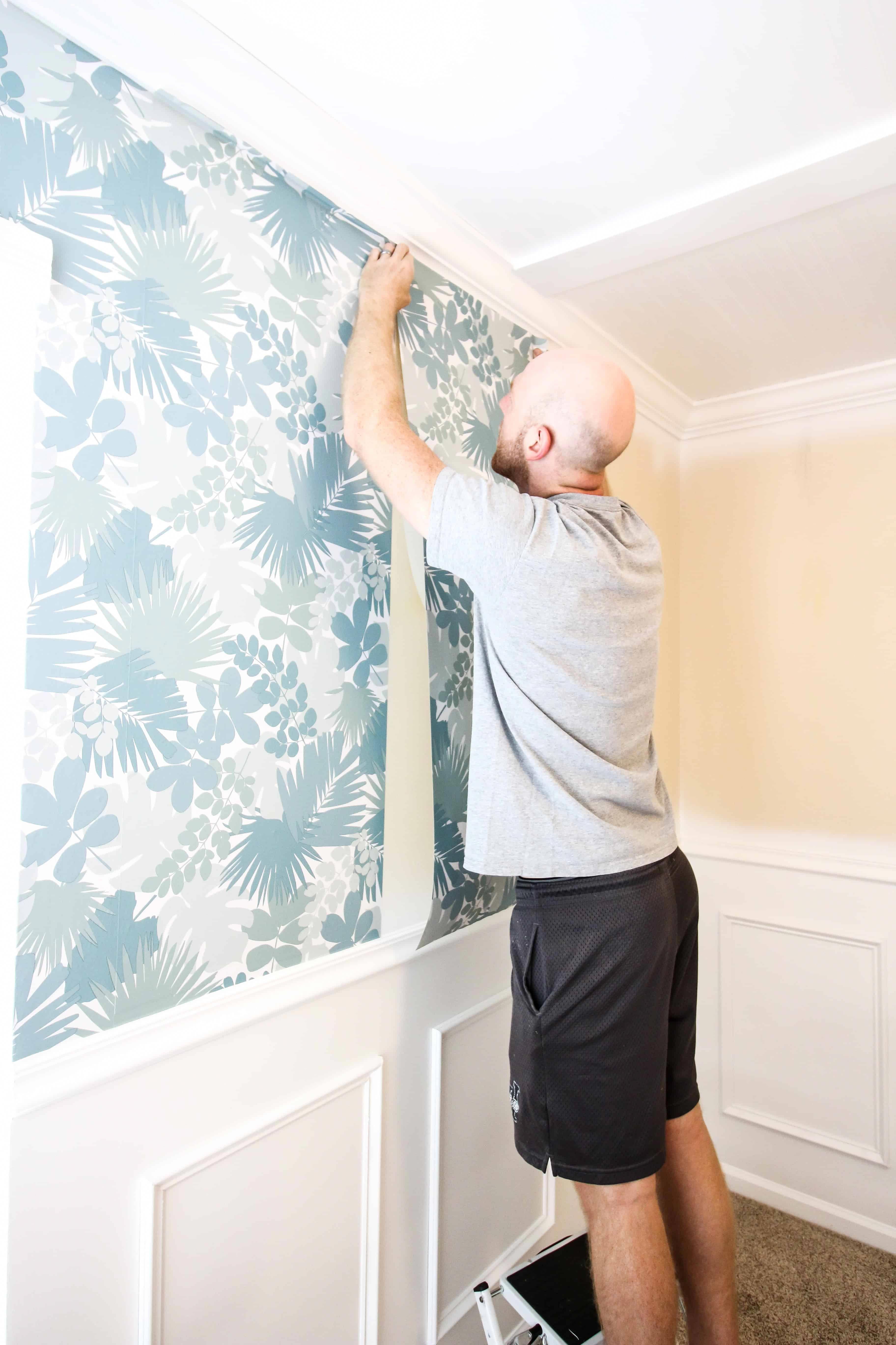 How to Hang Peel & Stick Wallpaper homedecoratingtips