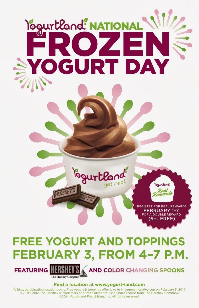 Yogurtland's 3rd National Frozen Yogurt Day Celebration