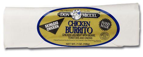 don miguel chicken burrito
