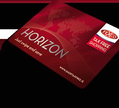 Horizon Card Tax Free Shopping Tax Refund Ireland Travel