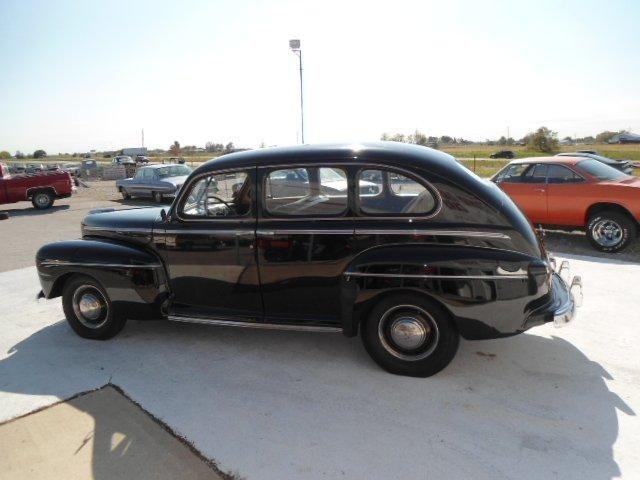 1946 Ford Deluxe Four Door Sedan With Suicide Doors