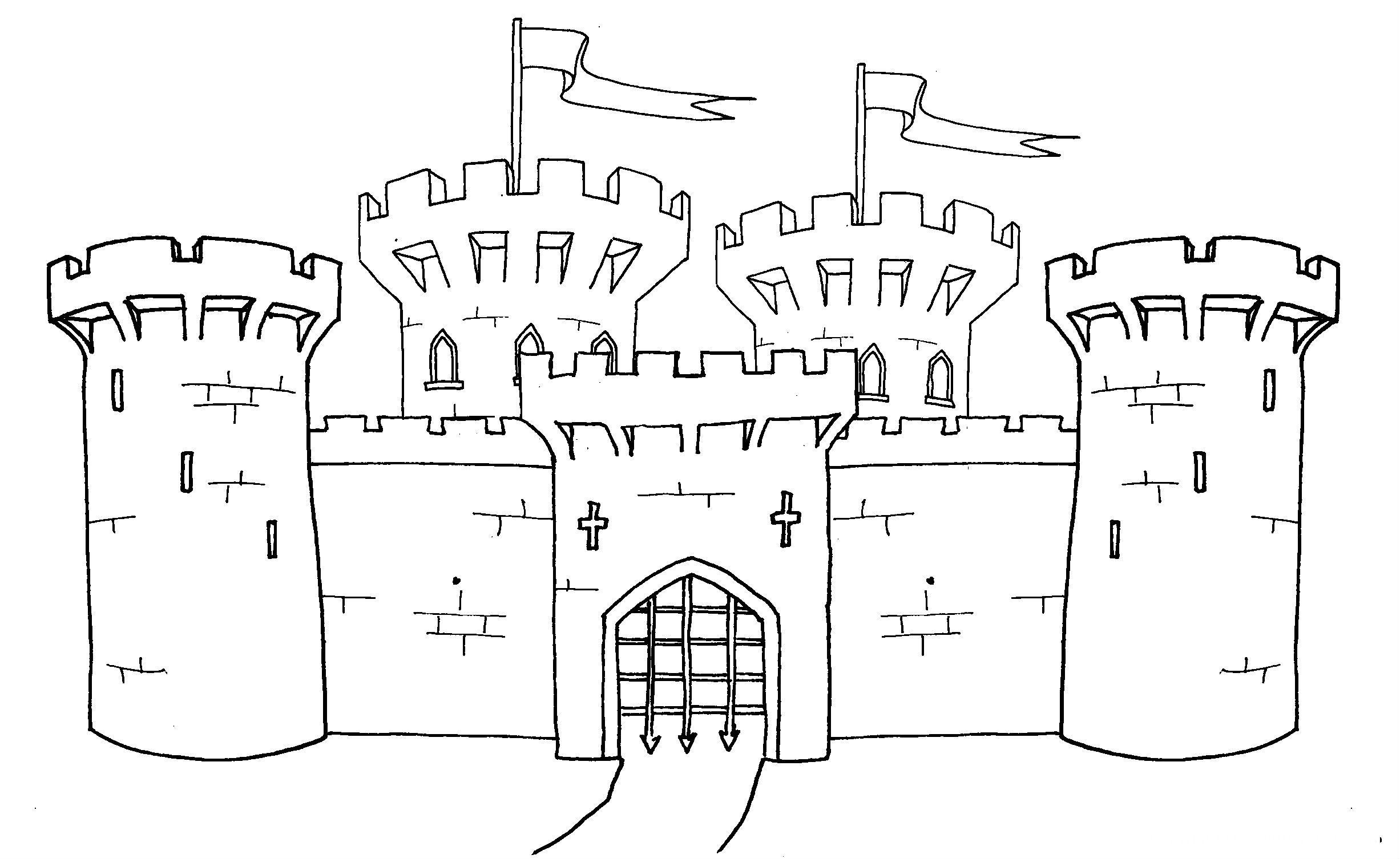 Unique Castles Coloring Pages For Kids D7l Printable Castles And Knights Coloring Pages For Kids Drawing Disney