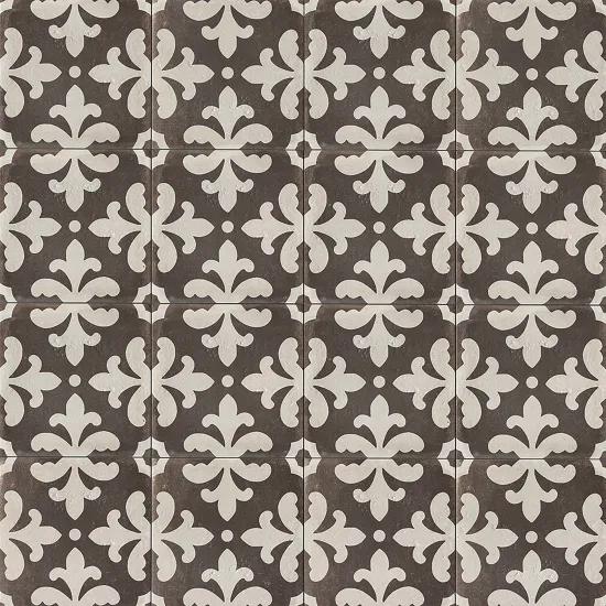 Palazzo 12 X 12 Decorative Tile In Castle Graphite Florentina Decorative Tile Tiles Bathroom Floor Tiles