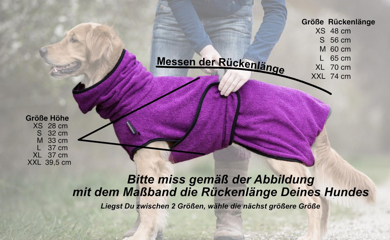 dryup cape Hundebademantel | Lotte & Anna | für unsere Liebsten ...