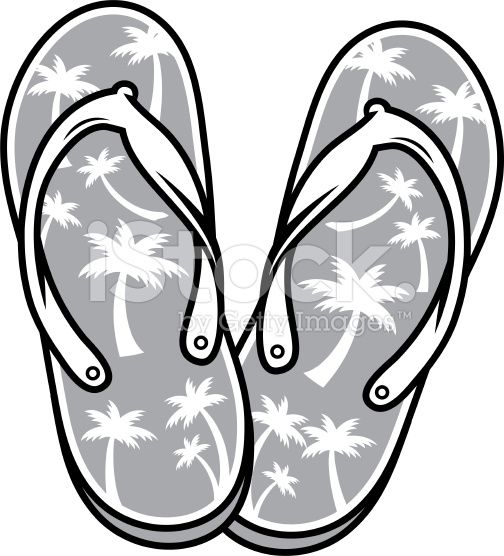 These Black And White Sandals Are Created With Separate Elements The Beach Sandals Flip Flops Black And White Sandals Beach Sandals