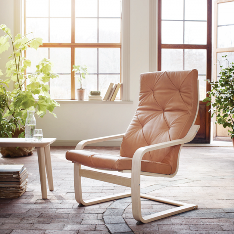 Exclusive Ikea S Iconic Armchair Got A Makeover And It S Good Iconic Armchairs Ikea Decor Comfy Chairs