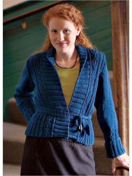 Breton Jacket Knitting Pattern