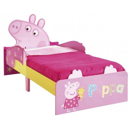 Toddler Beds From Great Design And Quality Featuring Their Favourite Characters Solid MDF Construction With Colourful Printed Head Footboard Slat