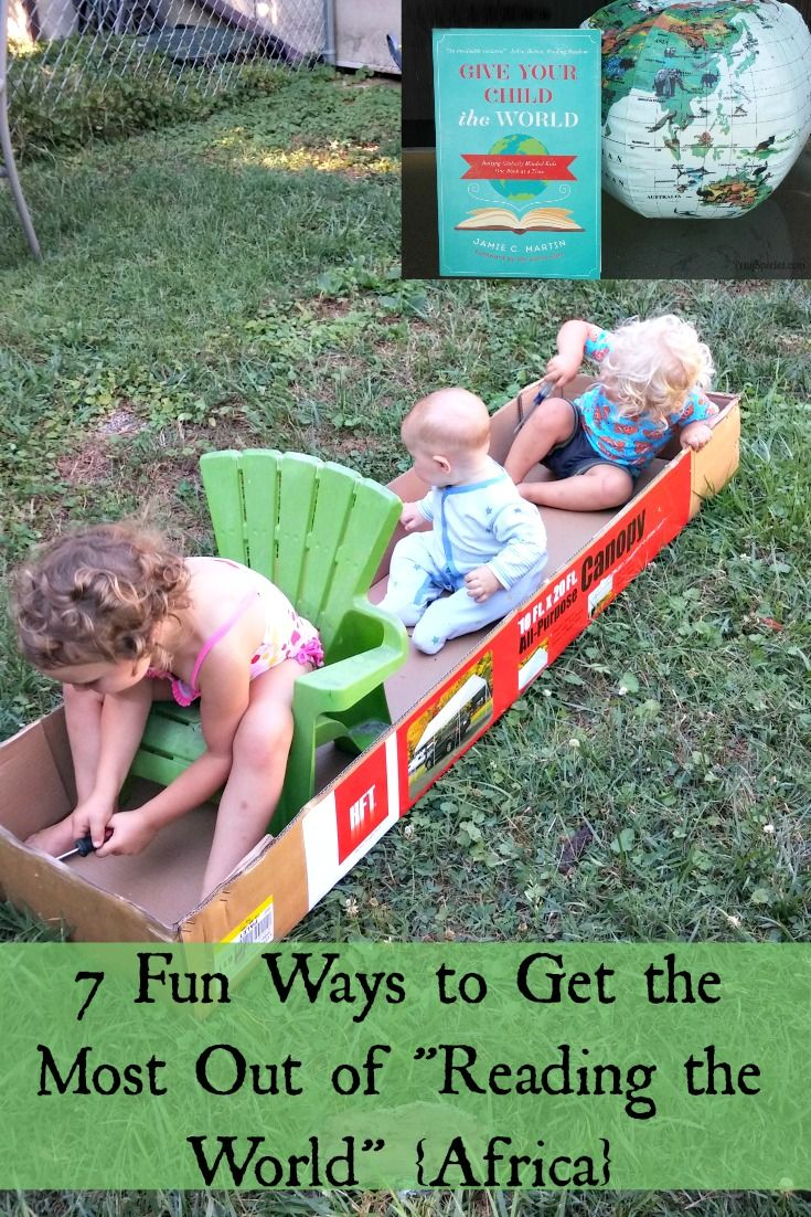 """7 Fun Ways to Get the Most Out of """"Reading the World"""" http://prayspecies.com/7-fun-ways-get-reading-world-africa/"""