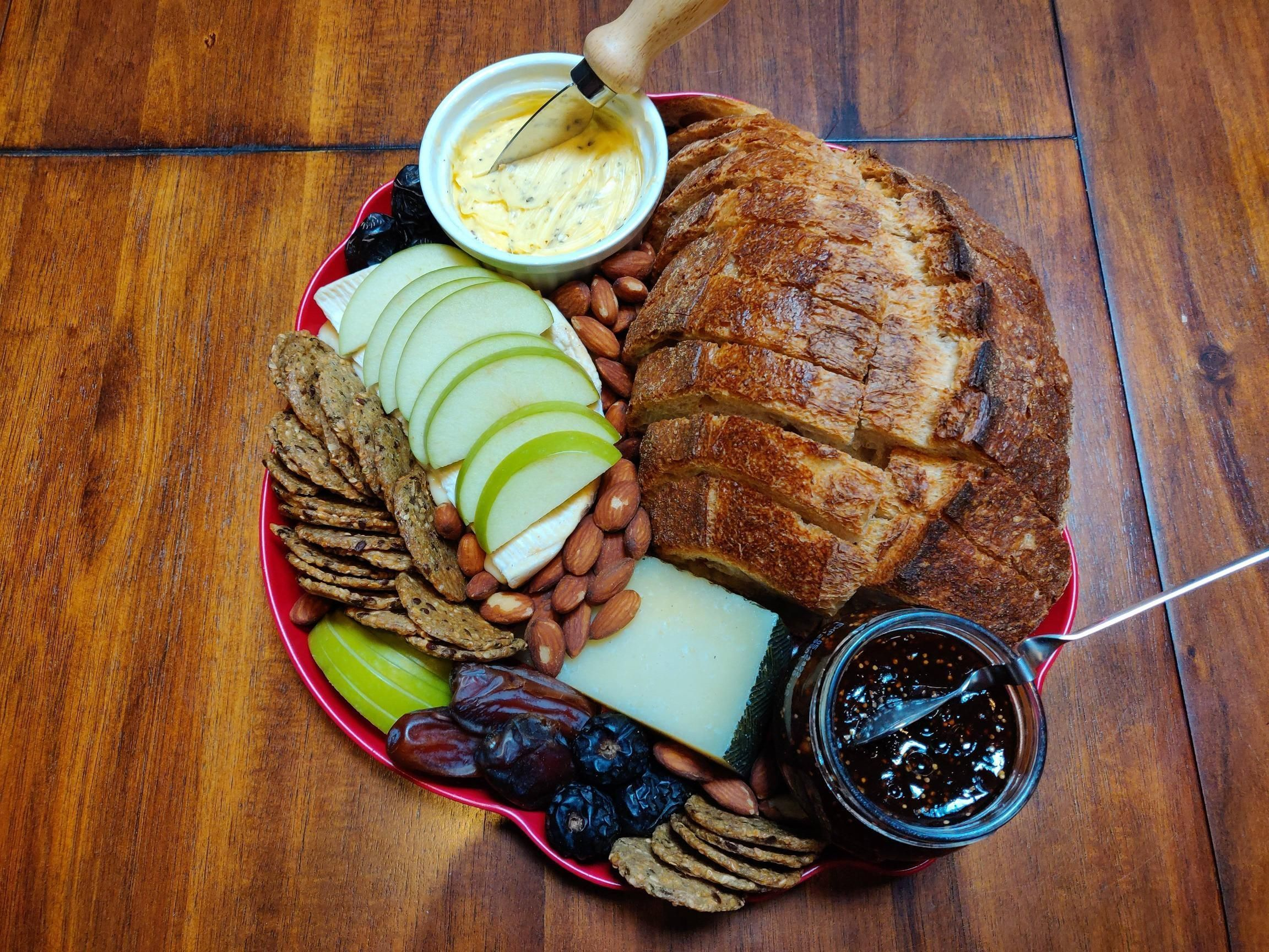 I made a cheese board with homemade butter for Friendsgiving I made a cheese board with homemade butter for Friendsgiving I made a cheese board with homemade butter for F...