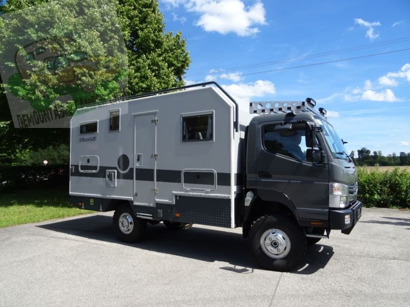 Germany; Bimobil EX460 on Fuso Canter 4x4 € 132,800 | Camping/ overland | Recreational vehicles ...