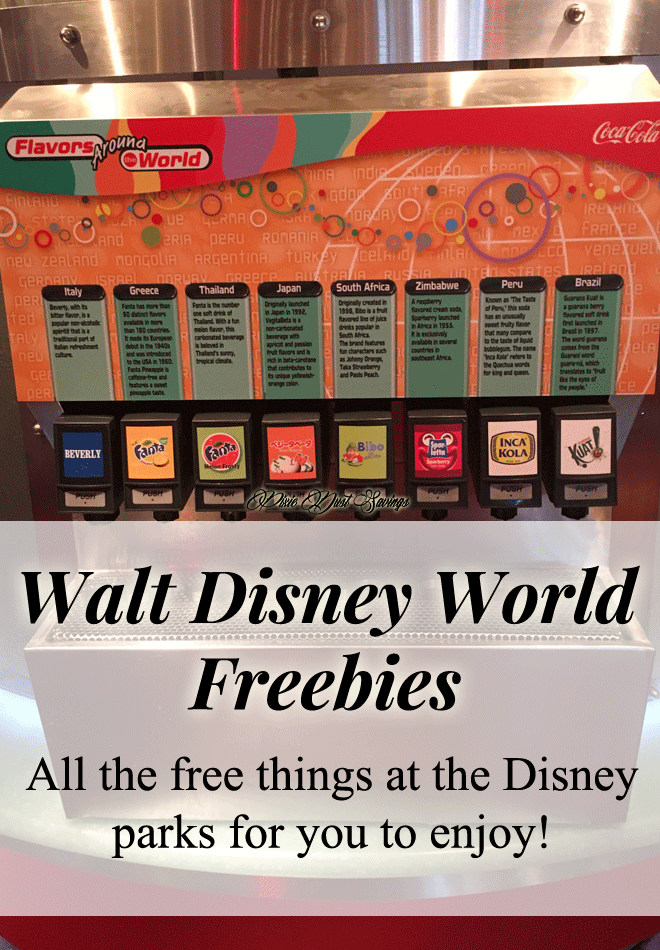 Disney World Park Freebies