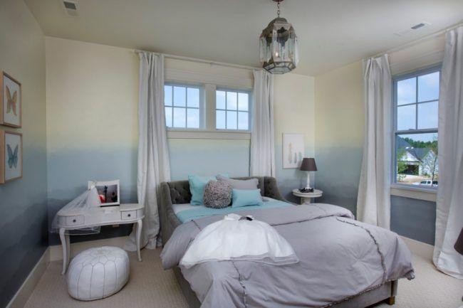 65 Wand streichen Ideen - Muster, Streifen und Struktureffekte - wände streichen ideen schlafzimmer