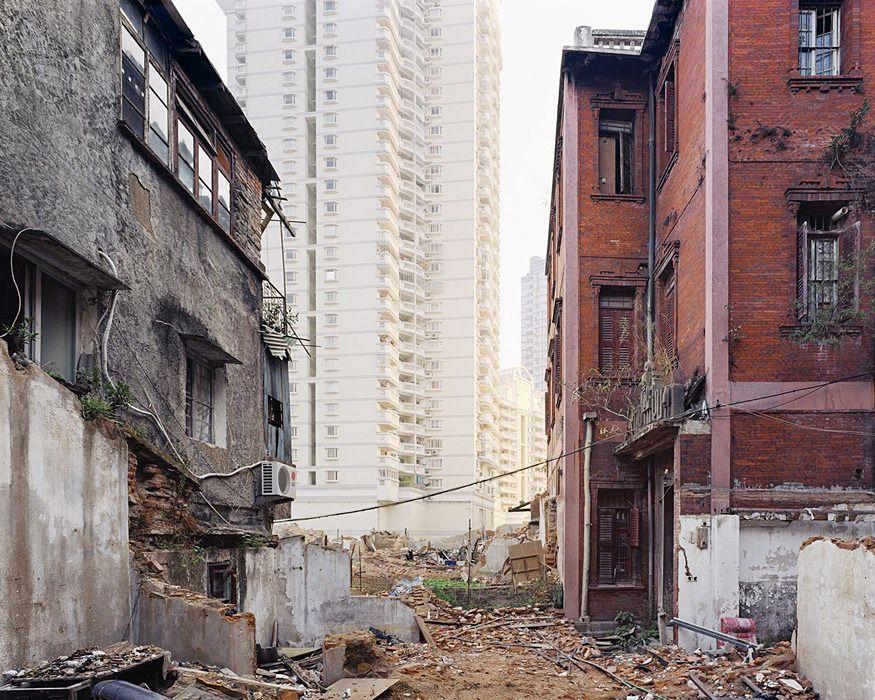 contrastes urbanos, fotografía de Sze Tsung Leong