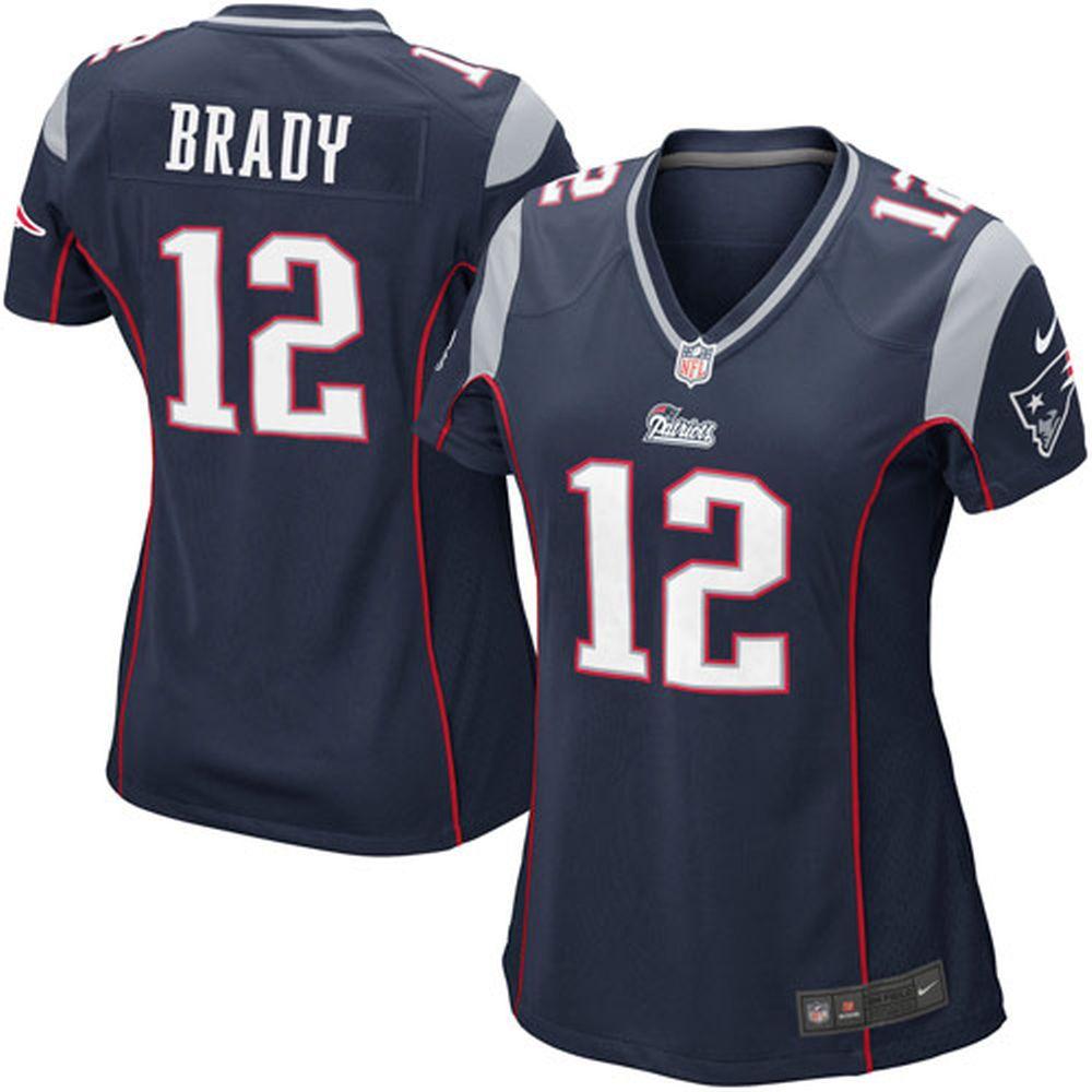 Nike Tom Brady New England Patriots Women S Navy Blue Game Jersey New England Patriots Merchandise New England Patriots New England Patriots Home