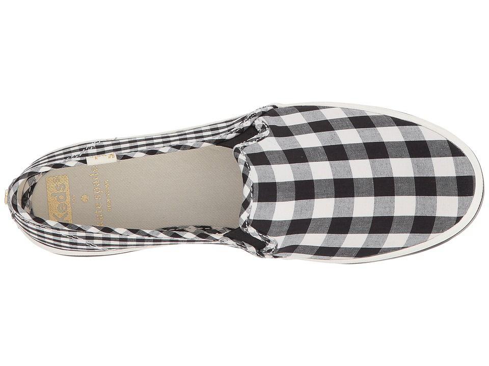 873dc9ecc552 Keds x kate spade new york Double Decker Gingham Women s Shoes Black ...