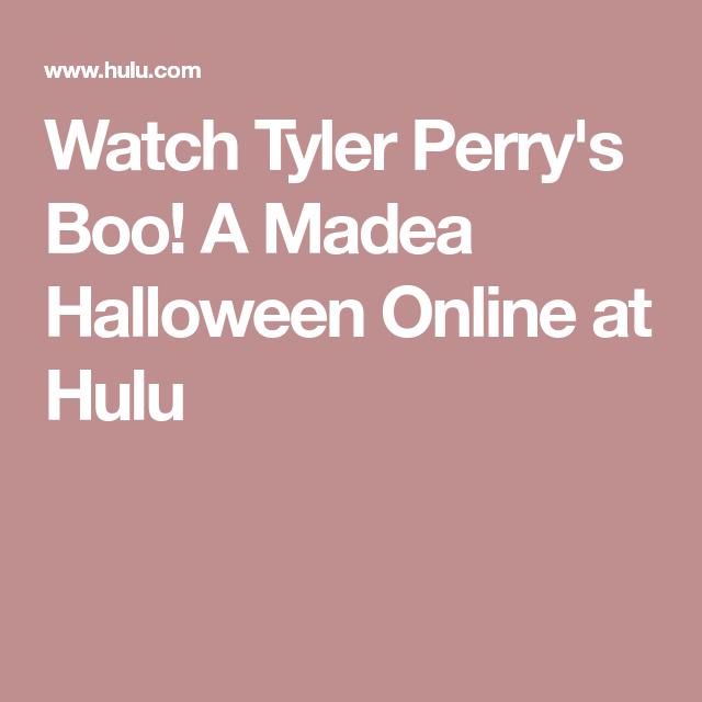 Watch Tyler Perry's Boo! A Madea Halloween Online at Hulu ...