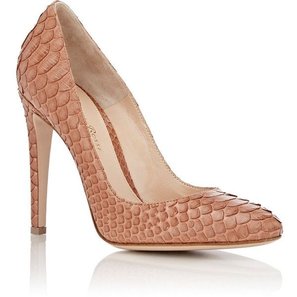 Gianvito Rossi Rounded-Toe Python Pumps discount find great wholesale price online explore cheap online popular sale online clearance enjoy TH4UlTW2c