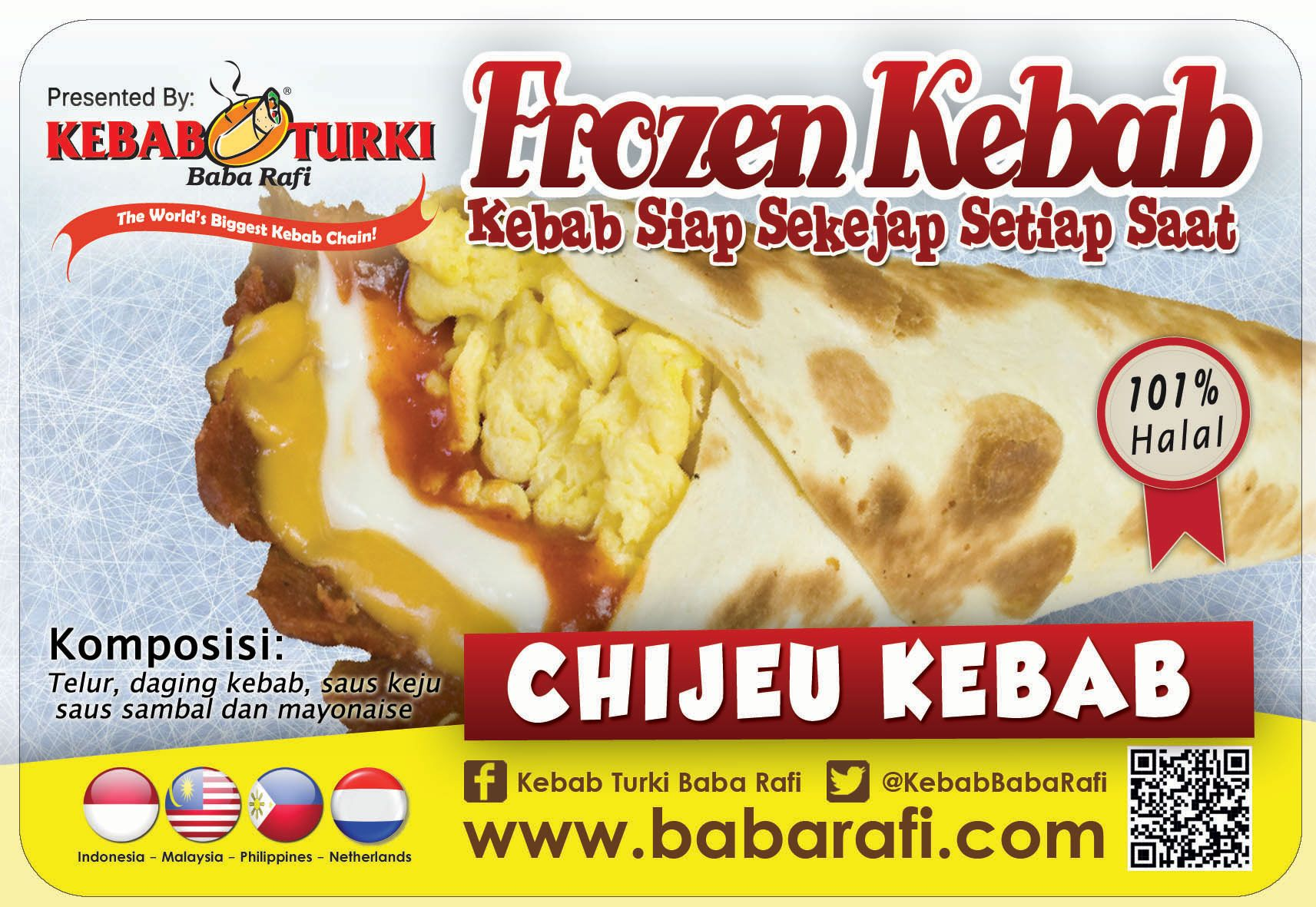 This Is Chijeu Kebab As One Of Our Frozen Kebab Delicious Snack Anytime You Want Www Babarafi Com Kebab Frozen Saus Sambal
