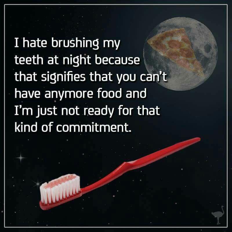 Pin by ah!shley on Funnies   Brush my teeth, Wisdom teeth ...