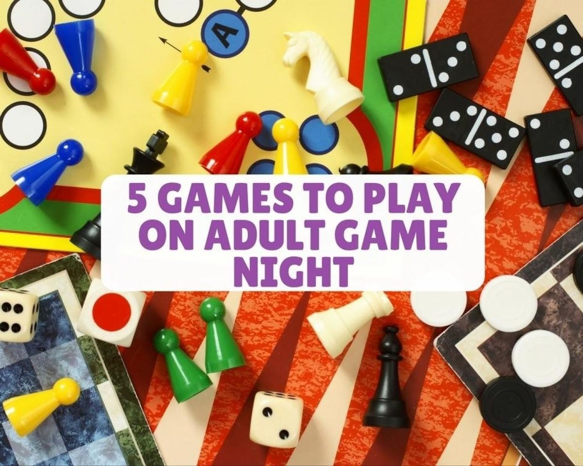 5 Games To Play On Adult Game Night With Images Adult Game