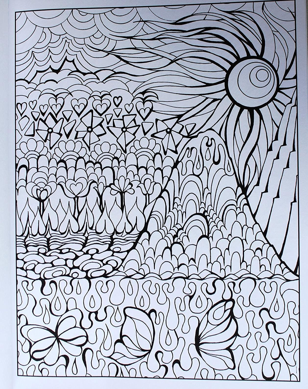 Amazon Creative Haven Magical Landscapes Coloring Book Adult