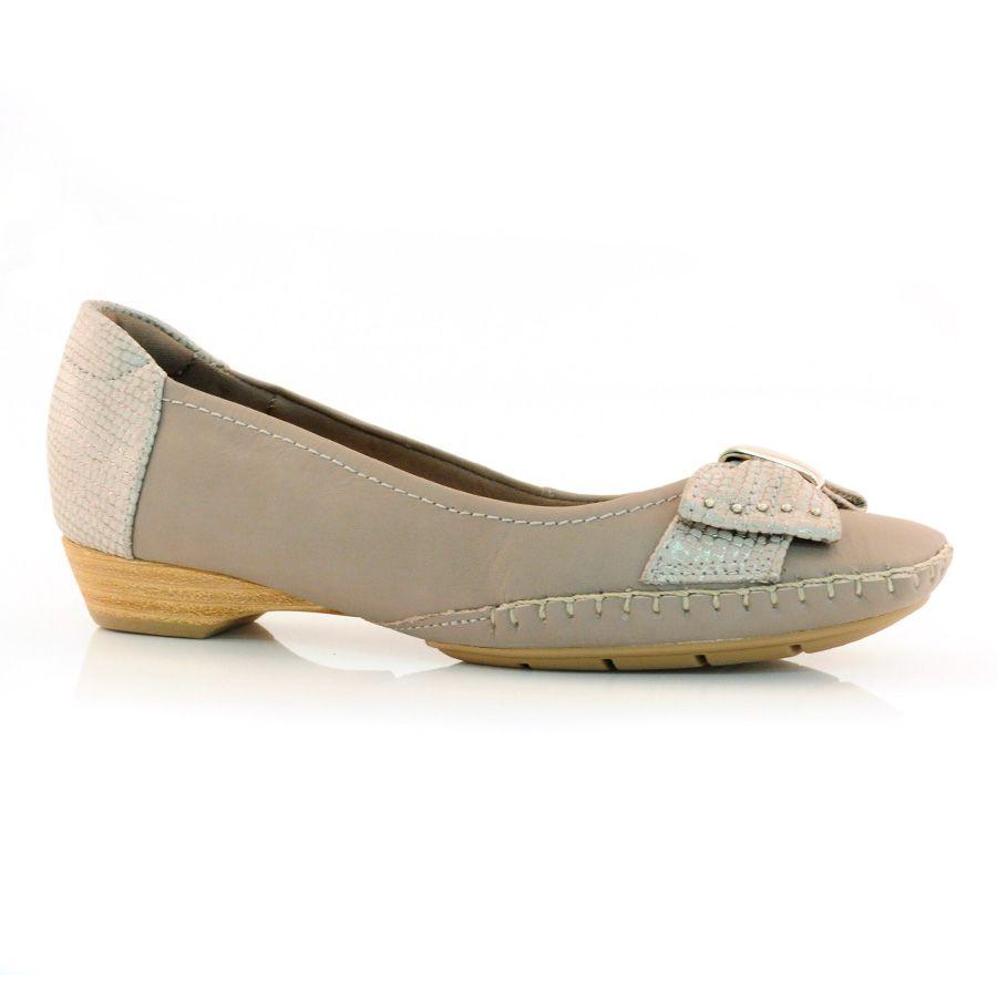 39b2217a42 Sapato Mocassim Feminino Usaflex C3213-03 - SAVAGE CIMENTO - Calçados Online  - Frete e Troca Grátis