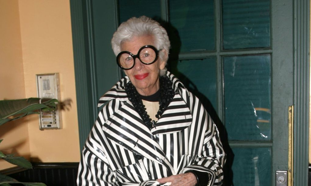 Iris Apfel: 'People like me because I'm different'