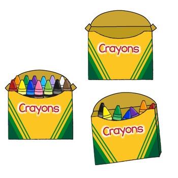 6088165ede60d2b7935ac30f0752b05a » Crayong Box Clipart